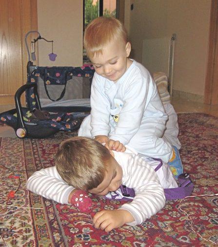 Baby und Kinder Shiatsu - Kinder genießen Kinder Shiatsu und es wirkt sehr entspannend